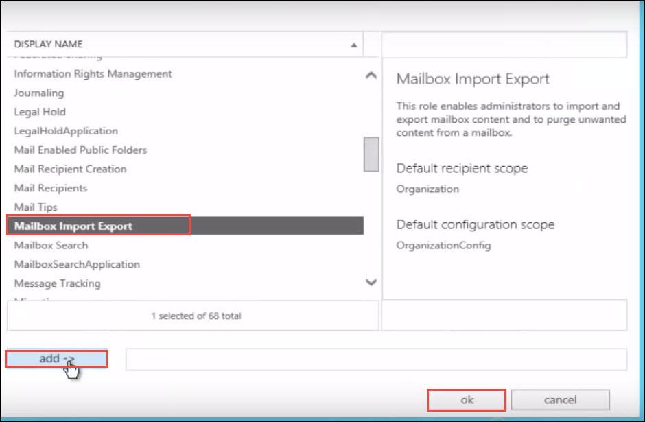 import pst into public folder