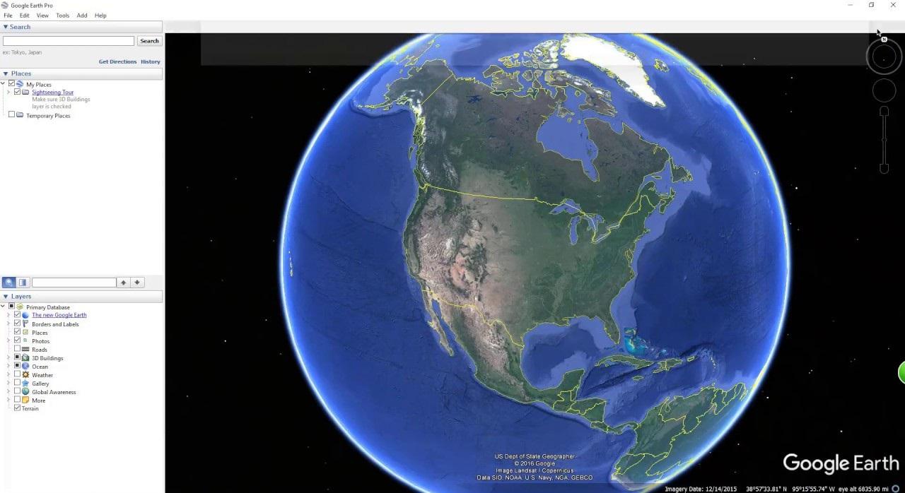 Google Earth Software
